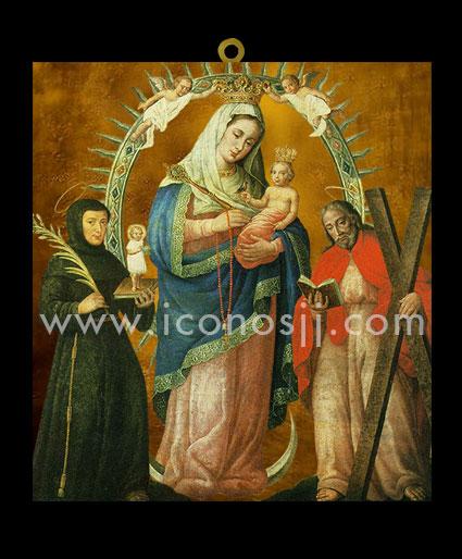 VRM79 - Virgen de la Chiquinquirá / San Antonio y San Andrés