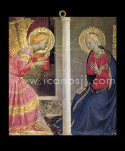 La Anunciación - El Arcangel San Gabriel y la Virgen María