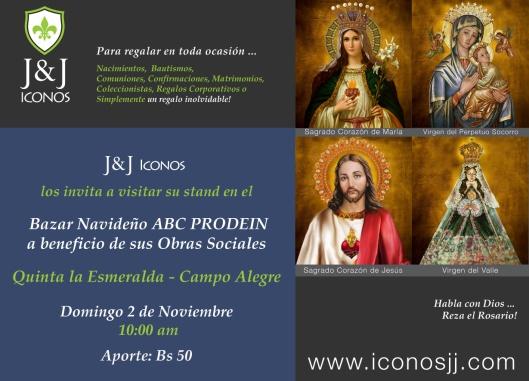 invitacion_iconosjj_bazar_prodein_2014